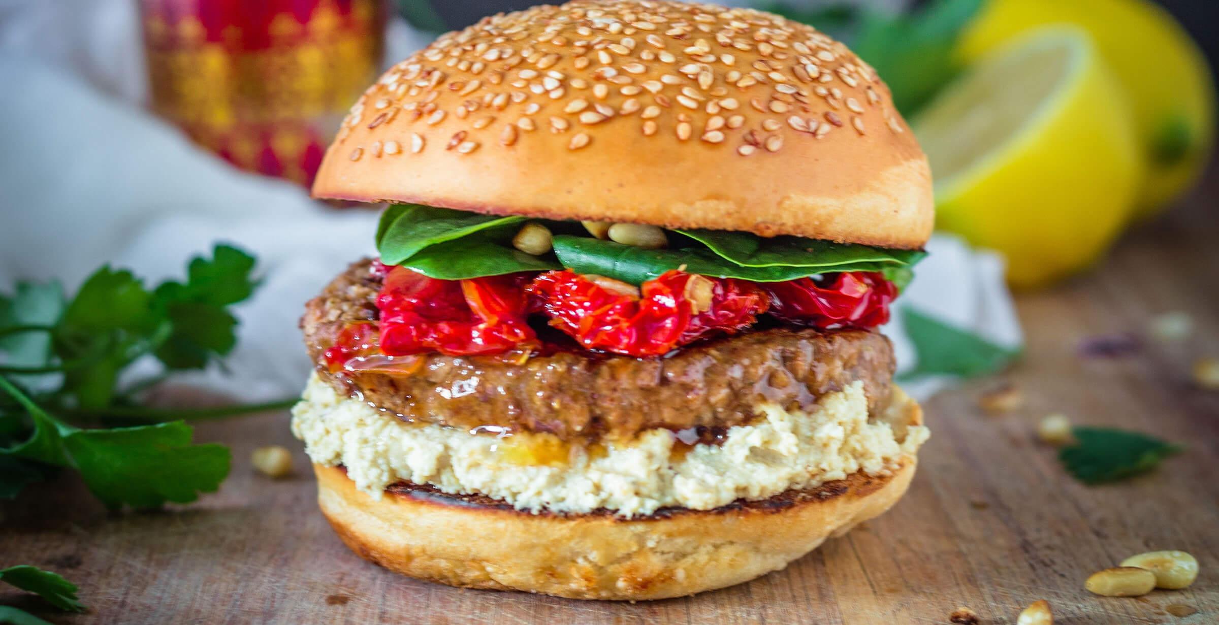 Lebanese burger