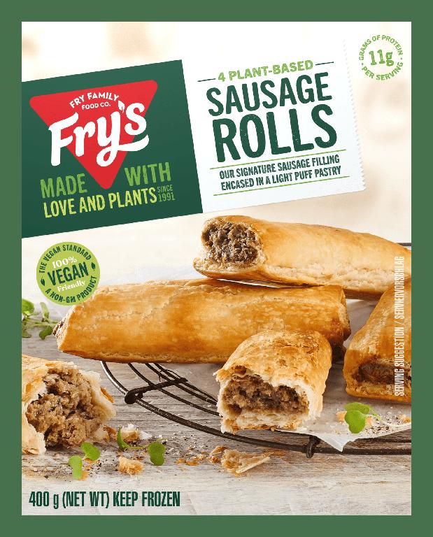 Plant-based sausage rolls