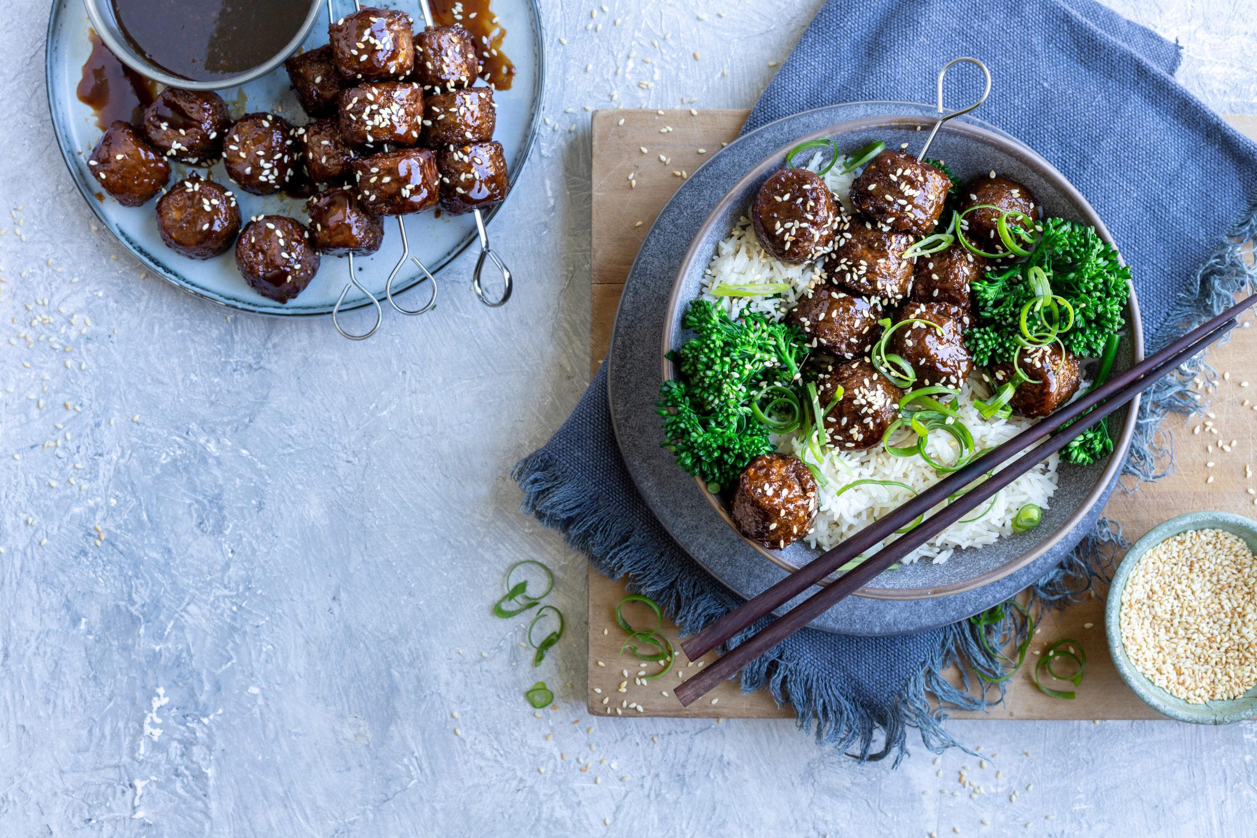 Frys_Mongolian Meatballs