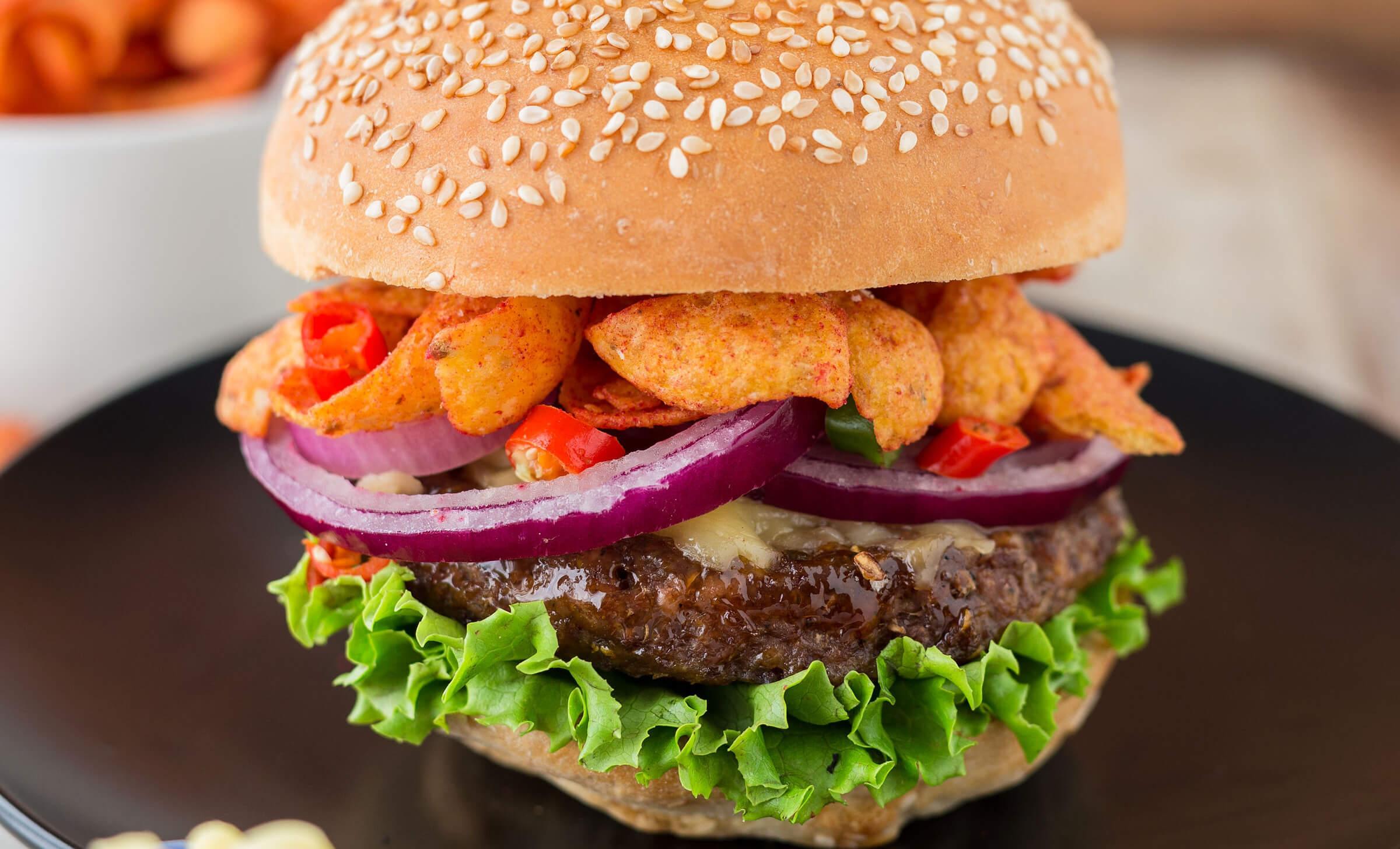 Frito burger