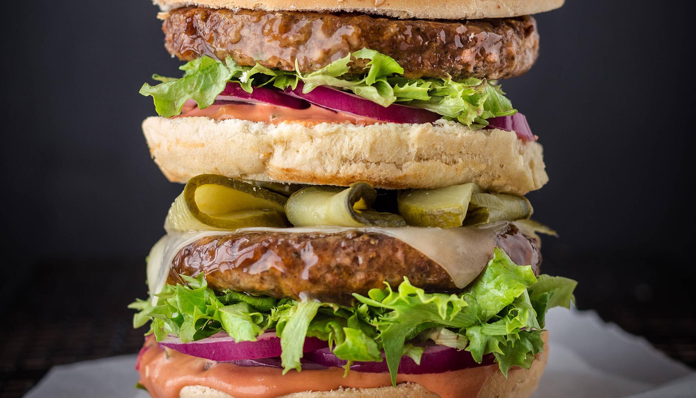 Macfry burger
