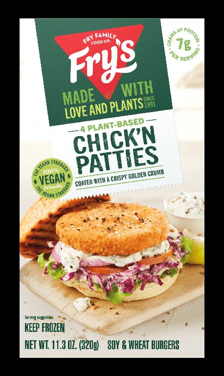 Chick'n Patties: Fry's