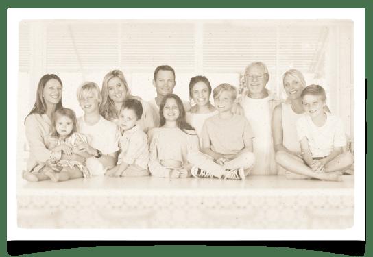 Fry Family Food Portrait