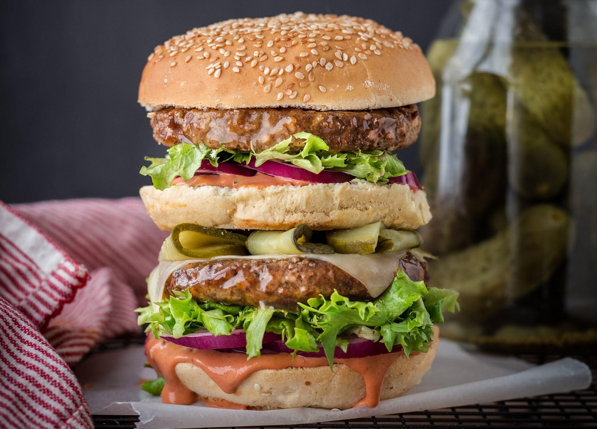Mac Fry Burger