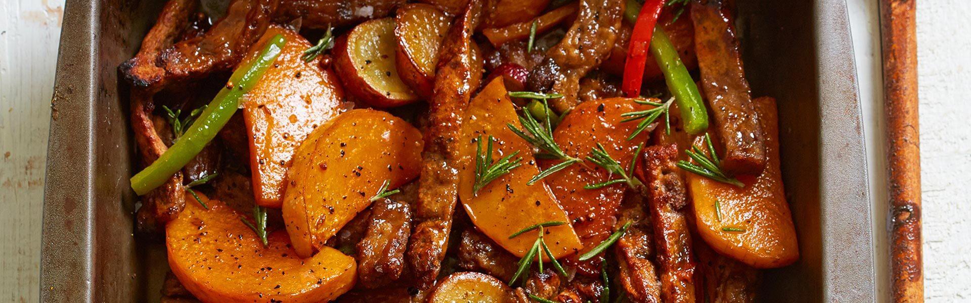 Warm Butternut and Sweet Potato Salad 2019