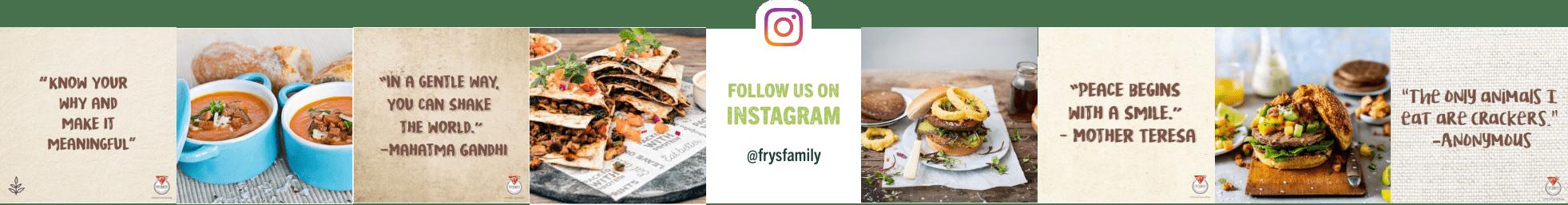 Fry's Instagram Banner