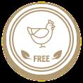 Element badge chicken free