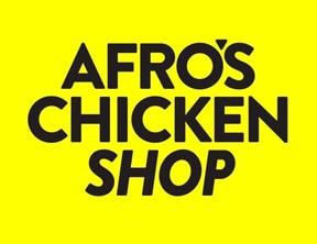 Afro's chicken shop logo